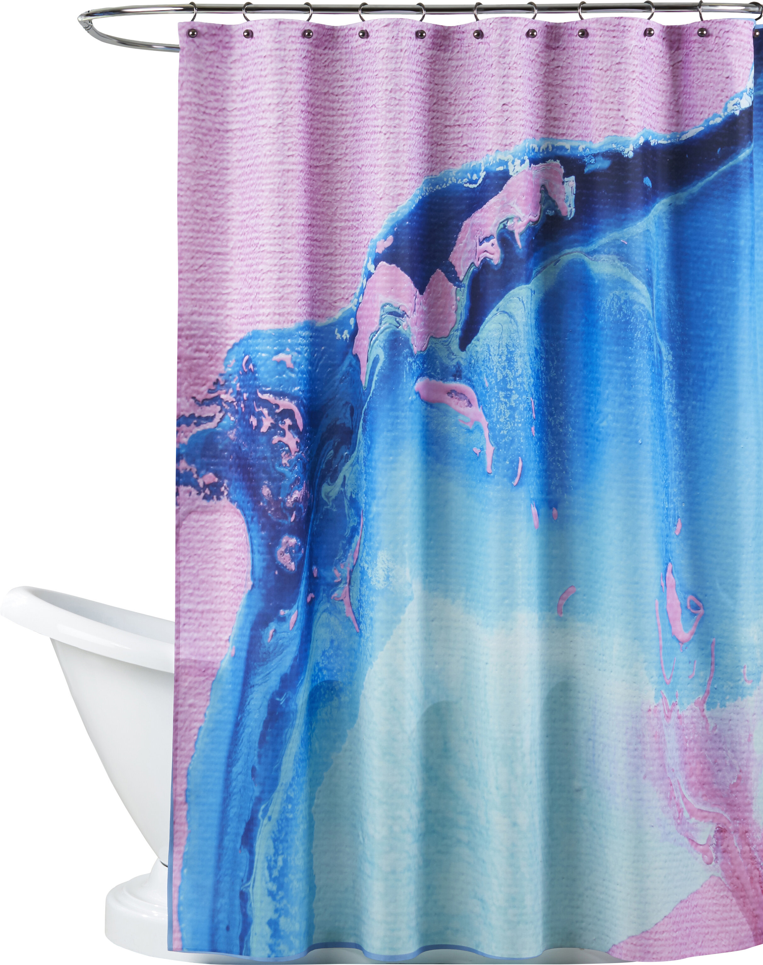 Brayden Studio Deb Mcnaughton Blur Single Shower Curtain Wayfair