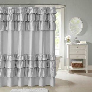 Leflore Microfiber Single Shower Curtain