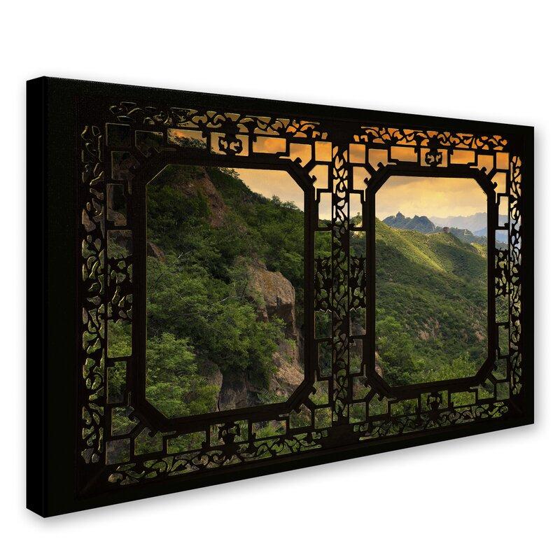 Trademark Art Window Wall Ii By Philippe Hugonnard Photographic Print On Wrapped Canvas Wayfair