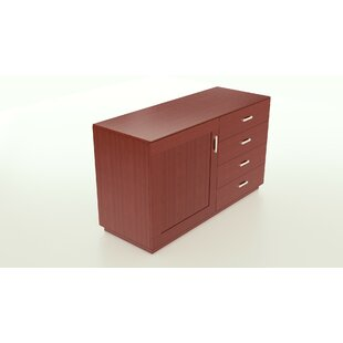 Horrell 4 Drawer Combo Dresser