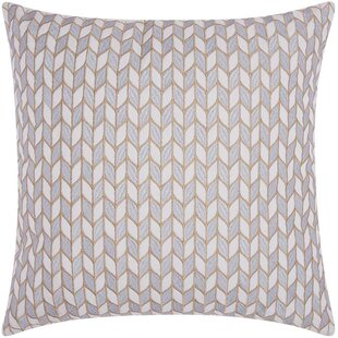 Hila Block Chevron Cotton Throw Pillow