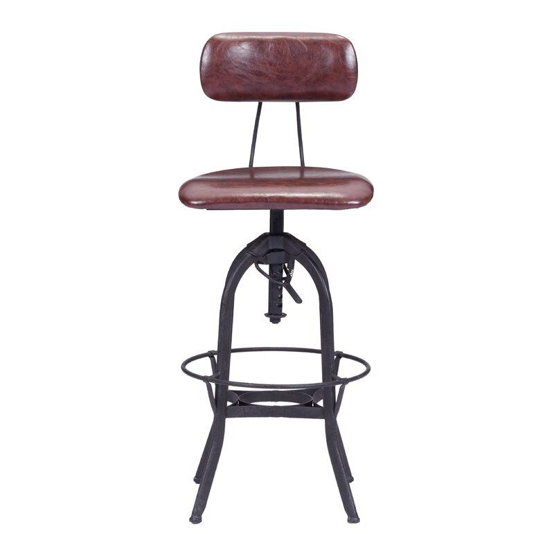 Tremendous Manoel Adjustable Height Swivel Bar Stool Andrewgaddart Wooden Chair Designs For Living Room Andrewgaddartcom