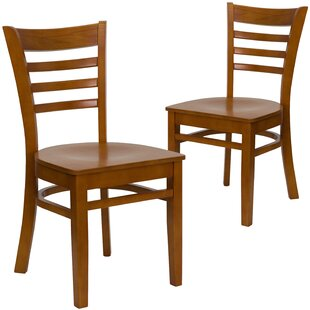 Chafin Solid Wood Dining Chair (Set of 2) Winston Porter
