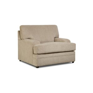 Simmons Upholstery Palmetto Armchair by Lati..