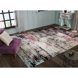 Bunn Ivory/Black Indoor/Outdoor Area Rug