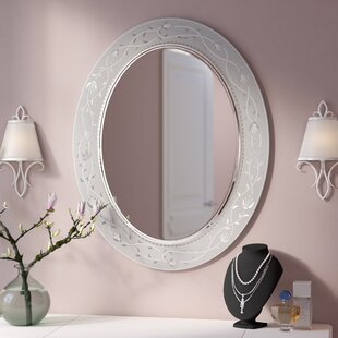 Compare Morandiere Etched Border Bathroom/Vanity Mirror By Lark Manor