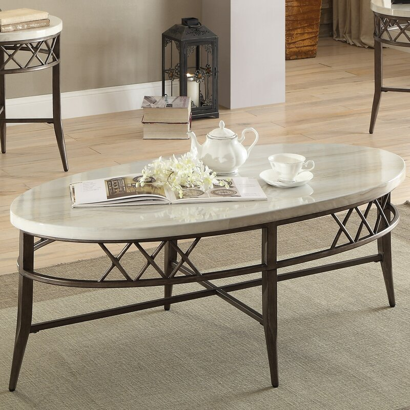 Bedfordshire 3 Piece Coffee Table Set