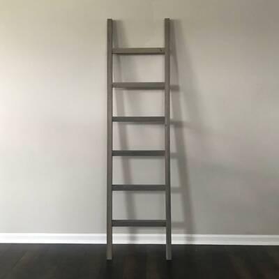 d8c65a1f8d8c BarnwoodUSA Rustic 5 ft Blanket Ladder & Reviews   Wayfair