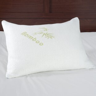 Rayon Memory Foam Standard Pillow