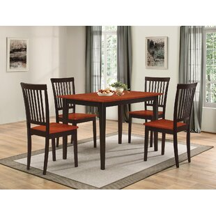 Pattonsburg 5 Piece Dining Set