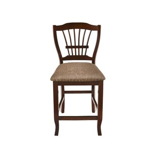 Jarvis 24 Bar Stool (Set of 2) by Alcott Hill