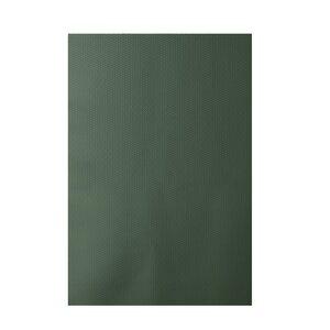 Chevron Green Indoor/Outdoor Area Rug