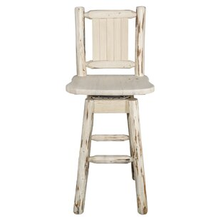 Rochester 30 Swivel Barstool Loon Peak