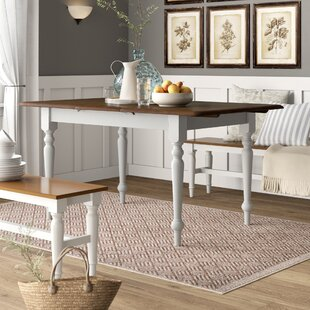 Compare Calila Extendable Solid Wood Leg Dining Table ByBirch Lane™