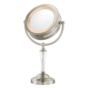 Reviews Dual Sided Lighted Vanity Mirror ByLatitude Run