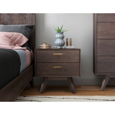 Brayden Studio Dalessio Platform 2 Piece Bedroom Set Bed Size: King