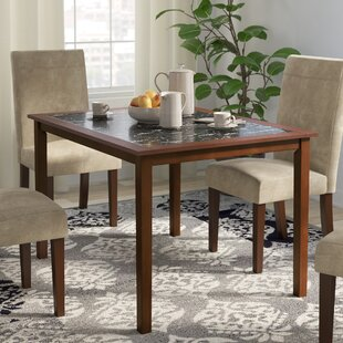 Faux Marble Dining Table Set | Wayfair
