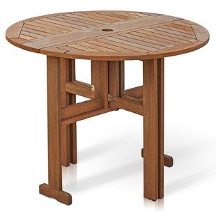 Arianna Folding Wood Dining Table