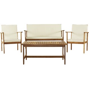 Rosner 4 Piece Sofa Seating Group with Cushions
