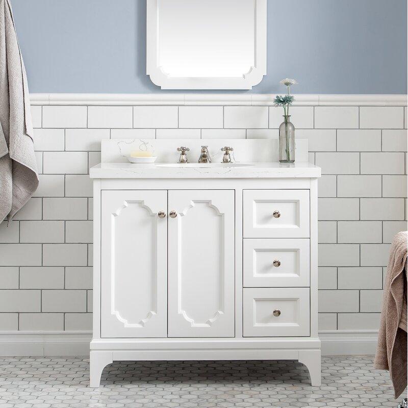 Water Creation Queen 36 Single Bathroom Vanity Set Perigold