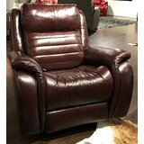 Essex Leather Reclining Chair by Southern Motion