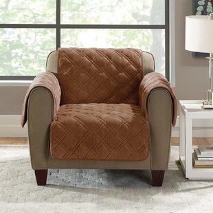 Plush Comfort Armchair Slipcover