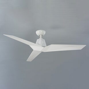 60 Vortex 3 Blade Outdoor LED Ceiling Fan with Remote By Modern Forms