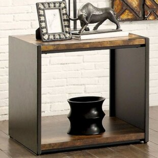Jena End Table by Union Rustic