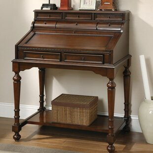 Independence Secretary Desk with Hutch by Three Posts
