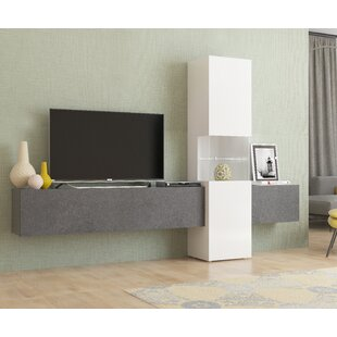 Inexpensive Neosho Entertainment Center for TVs up to 88 by Brayden Studio Reviews (2019) & Buyer's Guide