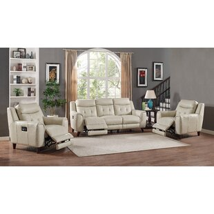 Paramount Leather 2 Piece Living Room Set