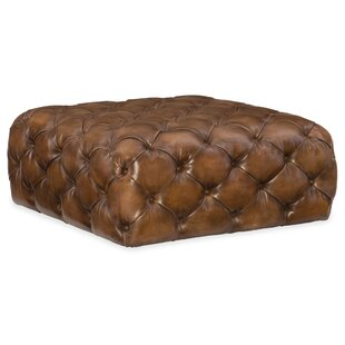 Ethan Leather Cocktail Ottoman