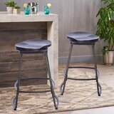 Secrist Swivel Counter Stool (Set of 2) by Williston Forge