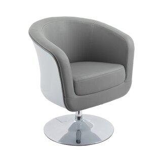 Deckert Swivel Barrel Chair
