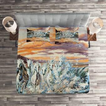Bay Isle Home Sanibel Blossom Duvet Cover Set Wayfair