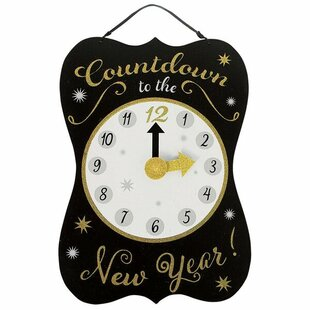 new years countdown sign wall dcor