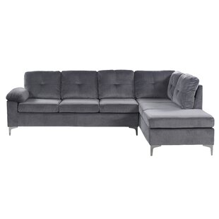 Read Reviews Sanders Sectional by Mercer41 Reviews (2019) & Buyer's Guide