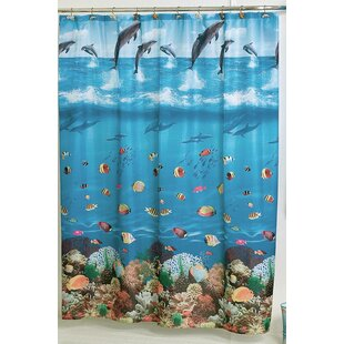 Seascape Single Shower Curtain