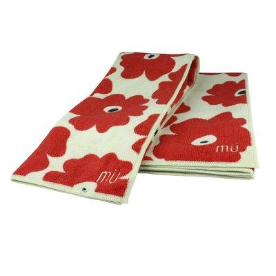 "Poppy Red MU Kitchen 16/"" x 24/"" Microfiber Dish Towel"