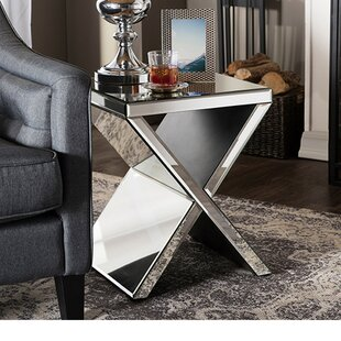 Girton Modern End Table by Orren Ellis