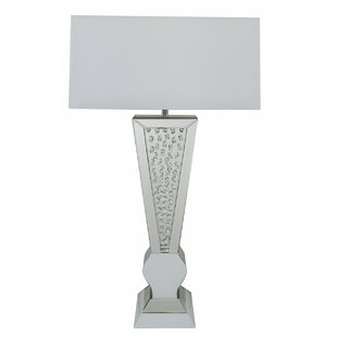 Exceptional Mirrored 93cm Table Lamp