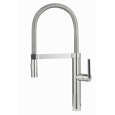 Blanco BlancoCulina Semi-Professional Kitchen Faucet with Pull-Out Sprayer Color: Polished Chrome