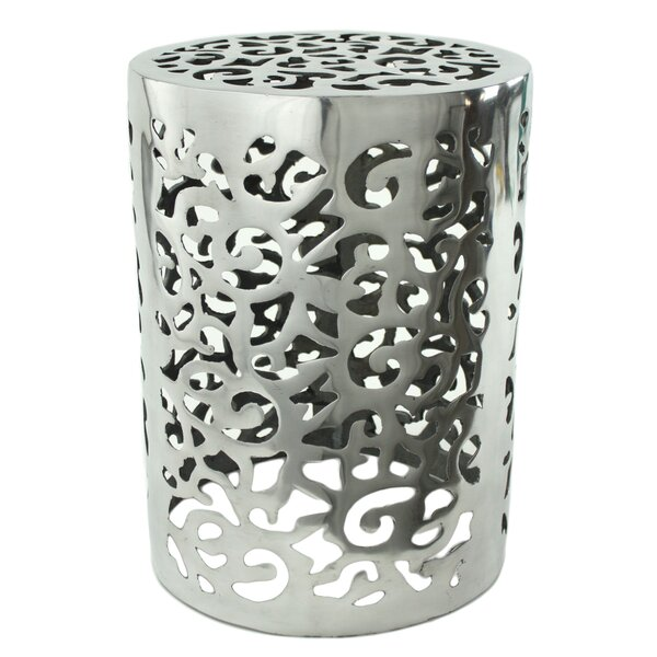 Aspire Kelsey Aluminum Garden Stool U0026 Reviews | Wayfair