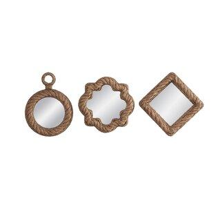 3 Piece Wall Mirror Set