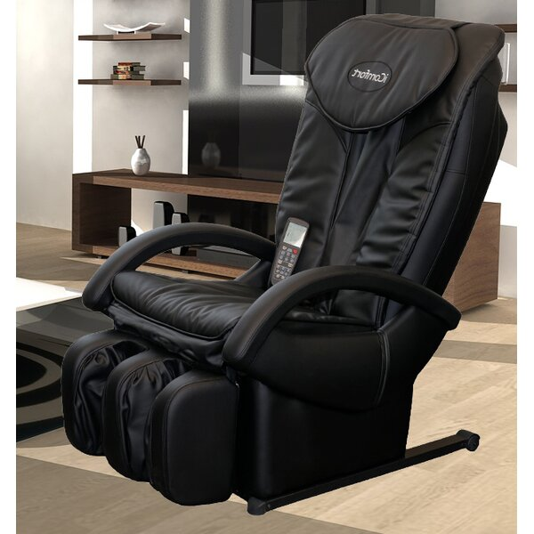 Exellent Reclining Massage Chair Faux Leather With Intended Design
