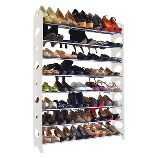 Reviews 8-Tier 40 Pair Shoe Rack By Maison Condelle