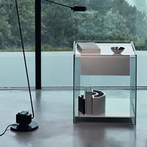 Nachttisch Milo mit Schublade von FIAM ITALIA