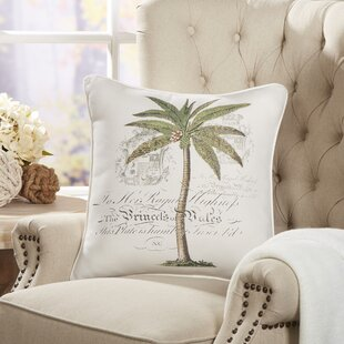 Imogen Royal Palm Pillow Cover