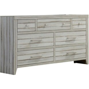 Quinlynn Wood 7 Drawer Double Dresser