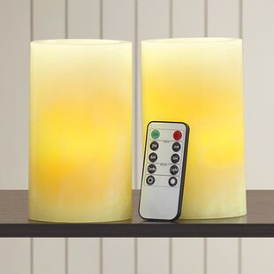 Northdale LED Scented Flameless Candle (Set of 2)